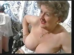 Chubby Old Granny Teases in..