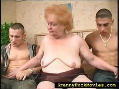 Grandma sucking surpassing..