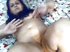 Mature indian floozie with..