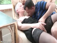 Horny matured woman gets say..