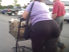 Gilf GrandMa Matured Ass Booty