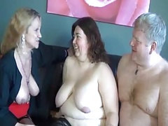 Mature together with BBW..
