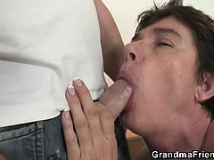 Hot triple on touching nasty..