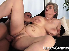 juicy granny make away fucked