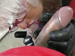 Granny Handjob #2 (Pizza Boy..