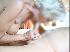 Making Granny Cum
