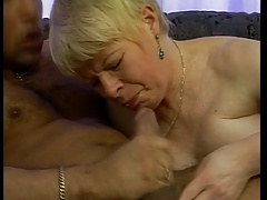 GERMAN GRANNY FUCKED IN..