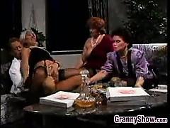 Grandmas Having Group Sex..