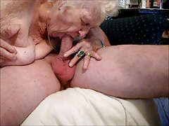 Granny Awesome blowjob! NEW..