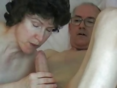 Mature couple - grandpa big..