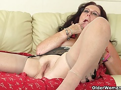 British granny Zadi fucks..