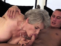 Granny Over 60 Senior Blowjob