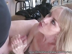 Double Cock Cum Floozy GILF