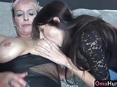 Teen girl fucks sexy mature..