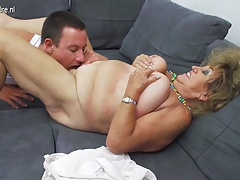 Mature BBW mom gender and..