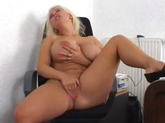 Giant Tits Blonde Solo..
