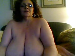 bbw mature on cam