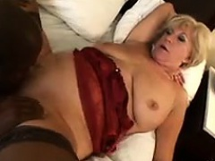 Horny Blonde Grandma Wants A..