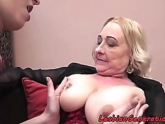 Younger MILF coupled with..