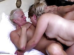 Old  and Young Lesbian fun